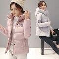 Baratos por atacado 2017 new Outono venda Quente da moda casual mulheres quentes de Inverno casacos feminino bonito casacos bisic doudoune femme