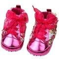 Babyshoes розы детские детские малыша обувь мягкой подошве обуви