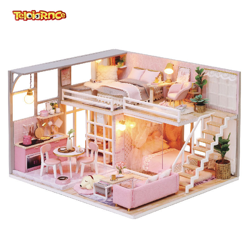 Toy Shop Christmas Dollhouse Miniature Blythe Doll Gift Set