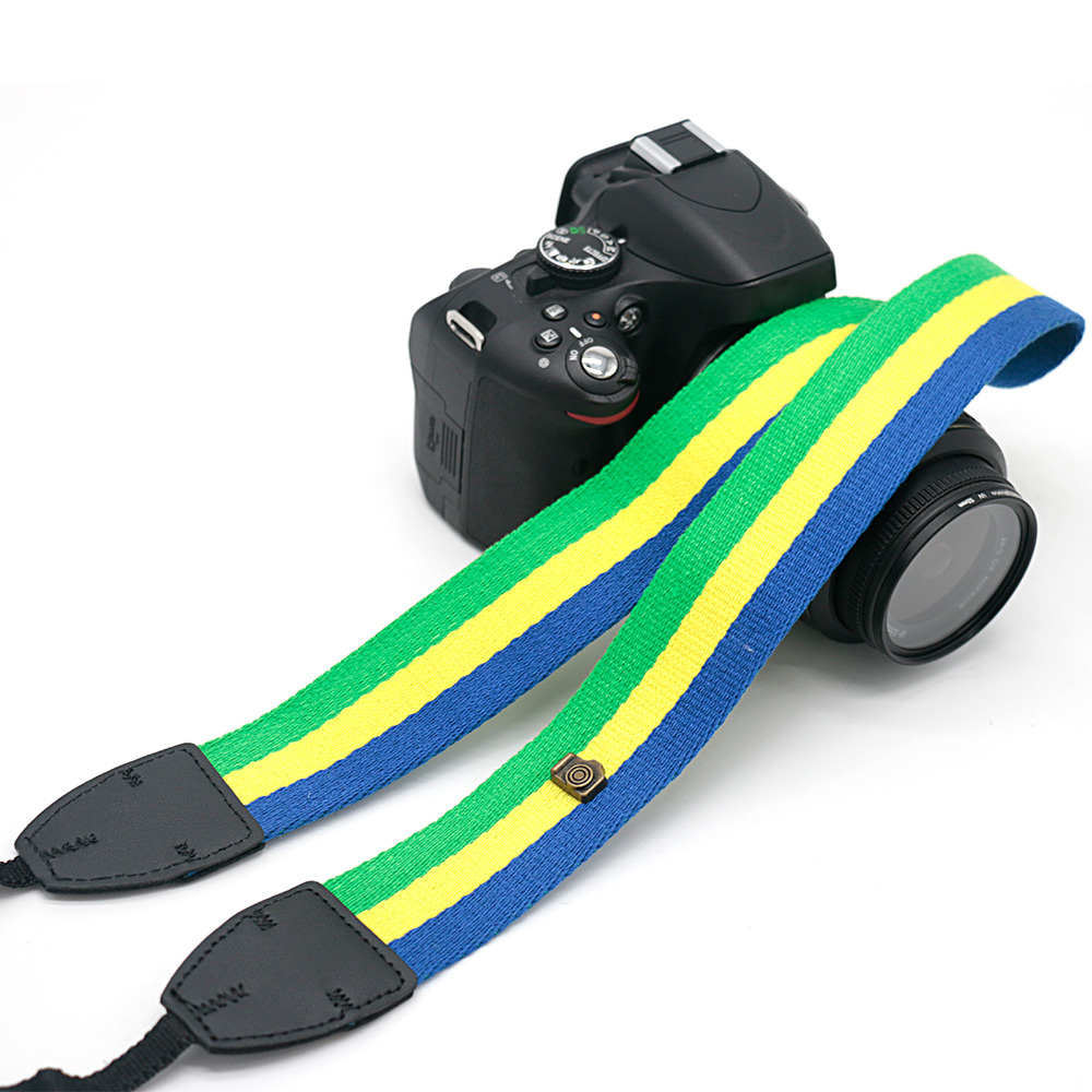 Fabric LTW-12 Camera Shoulder Strap For SLR DSLR For Canon Nikon Sony Camera free shipping