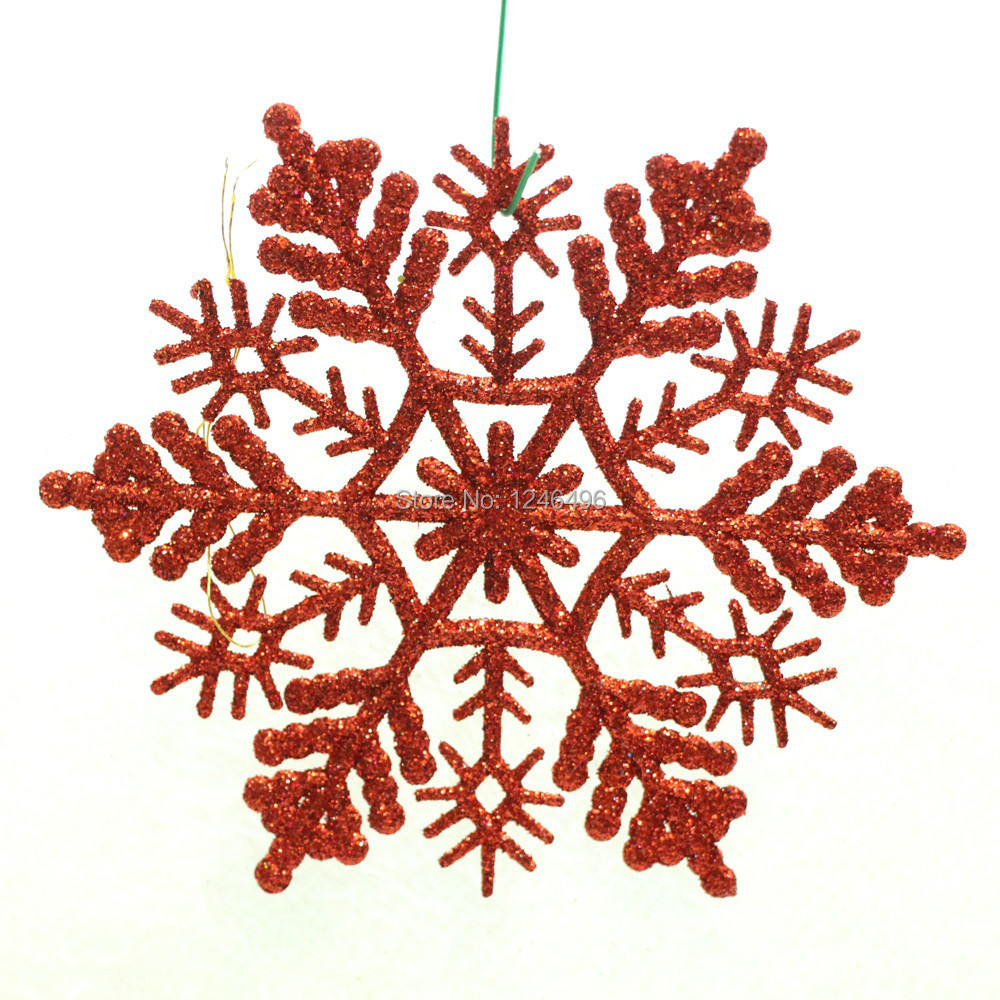 10 9cm glitter snowflake for christmas outdoor or wedding for 3d hanging snowflake decoration
