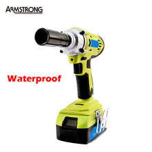 26V 5000 mAh Waterproof Rechargeable Electric Wrench Authentic Hand Spike Scaffolding Installation Professional Tools AT2181