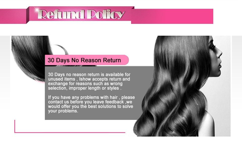 _07  Ishow Hair Ear To Ear Lace Frontal Closure With Bundles Brazilian Straight Human Hair three Bundles With Closure Non Remy four Pcs/lot HTB1S aVdH5YBuNjSspoq6zeNFXaz