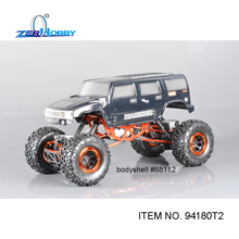 HSP RACING HOBBY REMOTE CONTROL ROCK CRAWLER 1/10 ELECTRICK OFF ROAD 4X4 CLIMBER HAMMER RC CAR TOYS 94180T2 FOUR WHEELS STEERING