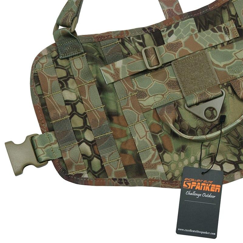 Отлично Элитные бизань Тактический одежды любимчика костюм Открытый военный Молл собака жилет комплект Training Охота два съемные чехлы