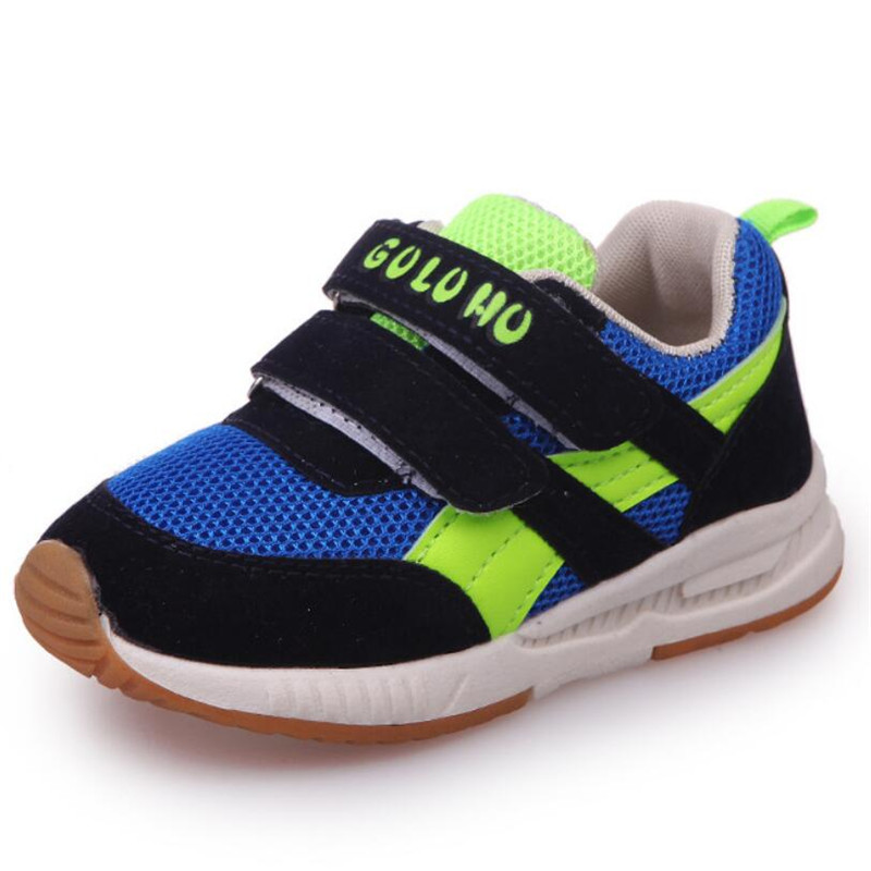 2018 Spring/Autumn Children Shoes Boys Sneakers Fashion Girls Sports Shoes Brand Casual Shoes Breathable Kids Running Shoes