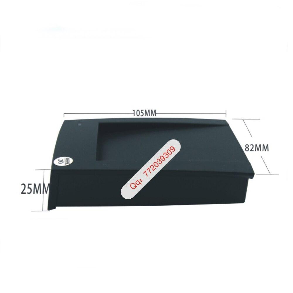 ID Card 125KHz RFID Reader & Writer/Copier/Programmer + FREE Rewritable ID Card & KeyFob COPY ISO EM4100 EM4102 with 2pcs cards