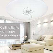modern ceiling lights home flush mount ceiling lamps fixture lustre living room bathroom bedroom kitchen led 12w 18w 24w 220v