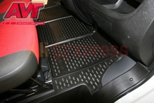 Floor mats for Fiat Ducato 2012- 4 pcs rubber rugs non slip rubber interior car styling accessories