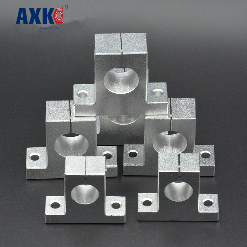 Axk Linear Rail Shaft Sk8/10/12/16 1pcs Linear Rail Shaft Support Xyz Table Cnc For 3d Printer Parts Accessories 2pcs lot sk35 35mm linear rail shaft guide support cnc brand new