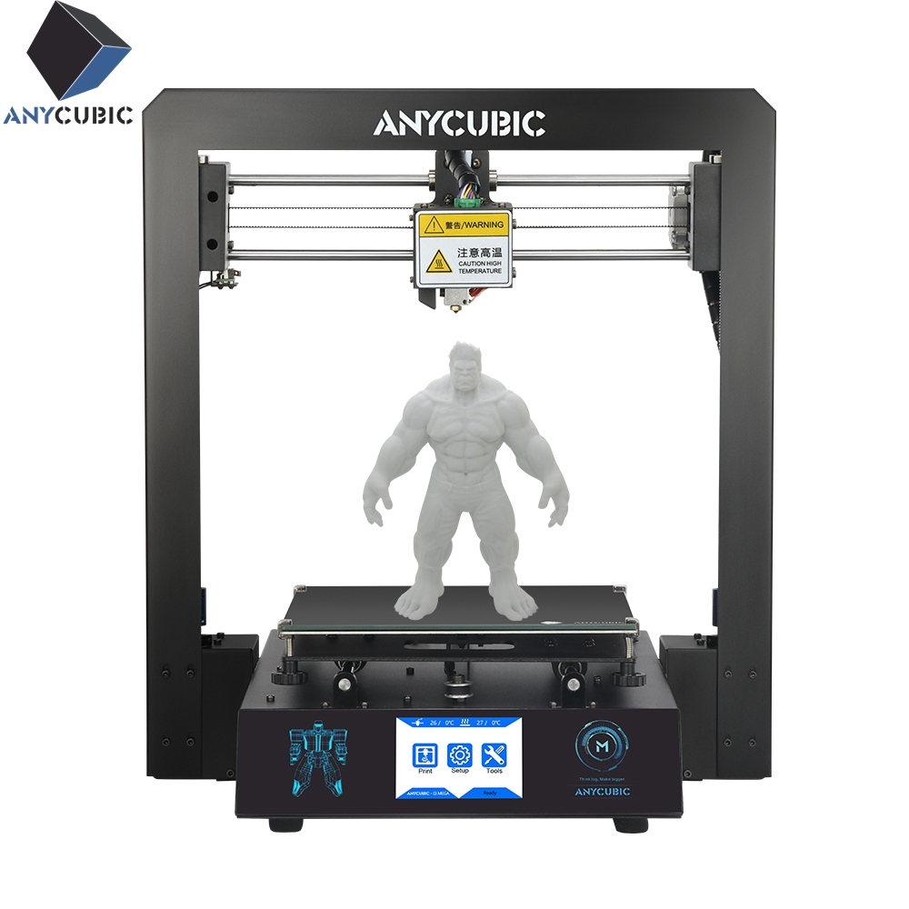 ANYCUBIC I3 Mega Large Plus Size Full Metal TFT Touch Screen 3d Printer