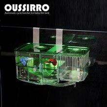 New Plastic Aquarium Nursery Automatic Circulating Hatchery Baby Fish Breeding Incubator For Pet Fish Tank Supplies