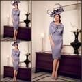 Сексуальные элегантных женщин кружева брючный костюм фиолетовый оболочка Большой размер мать невесты платья сделано в китае свадебные платья Madrinha