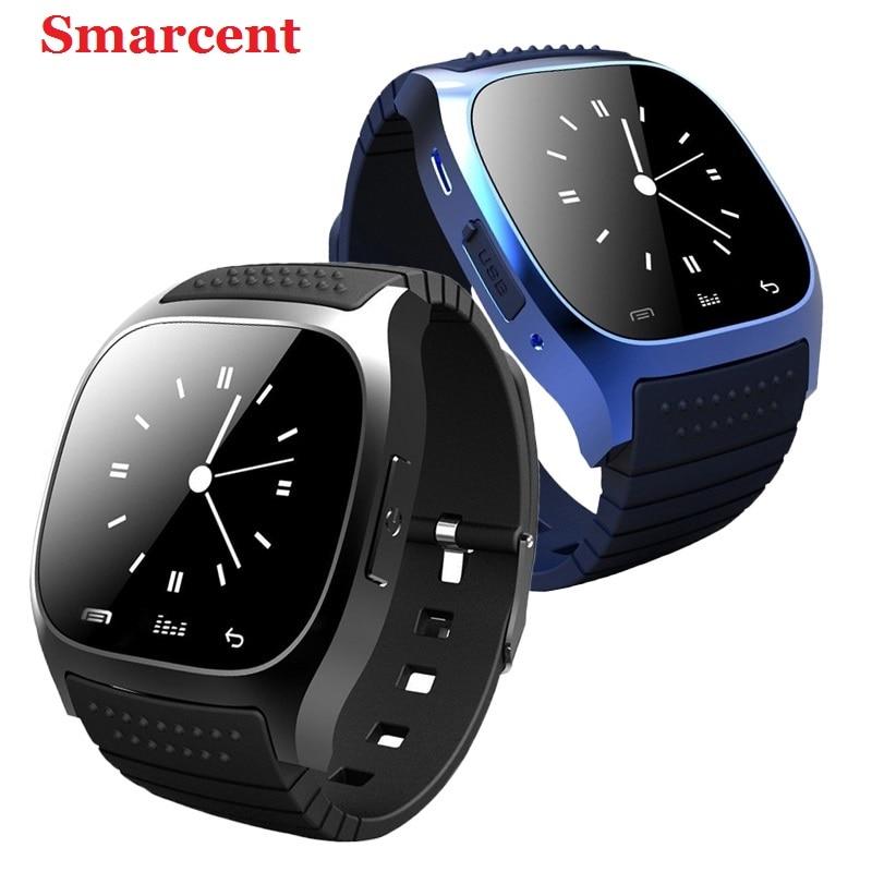Original smarcent m26 bluetooth smart watch smartwatch con dial sms recuerdan po