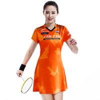 New Tennis Badminton Dress Sports Suit With Short Pants