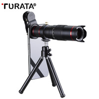 TURATA Cellphone Mobile Phone 22x Camera Zoom Optical Telescope Telephoto Lens For Samsung iPhone 8 7 Plus Huawei Sony LG Xiaomi