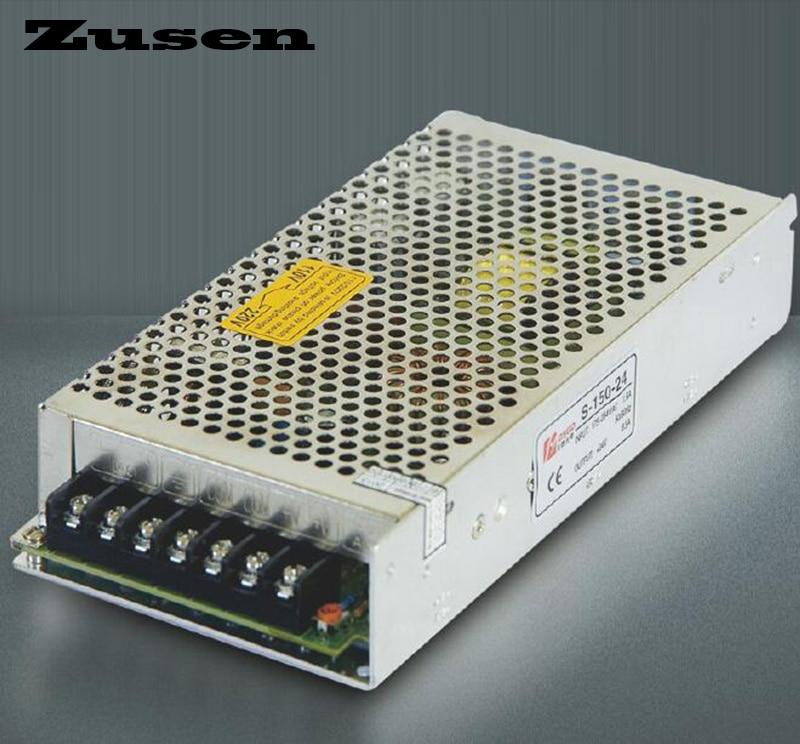 Zusen high quality S-150W 5V 12V 15V 18V 24V 36V 48V Single Switching Power supply цена 2017