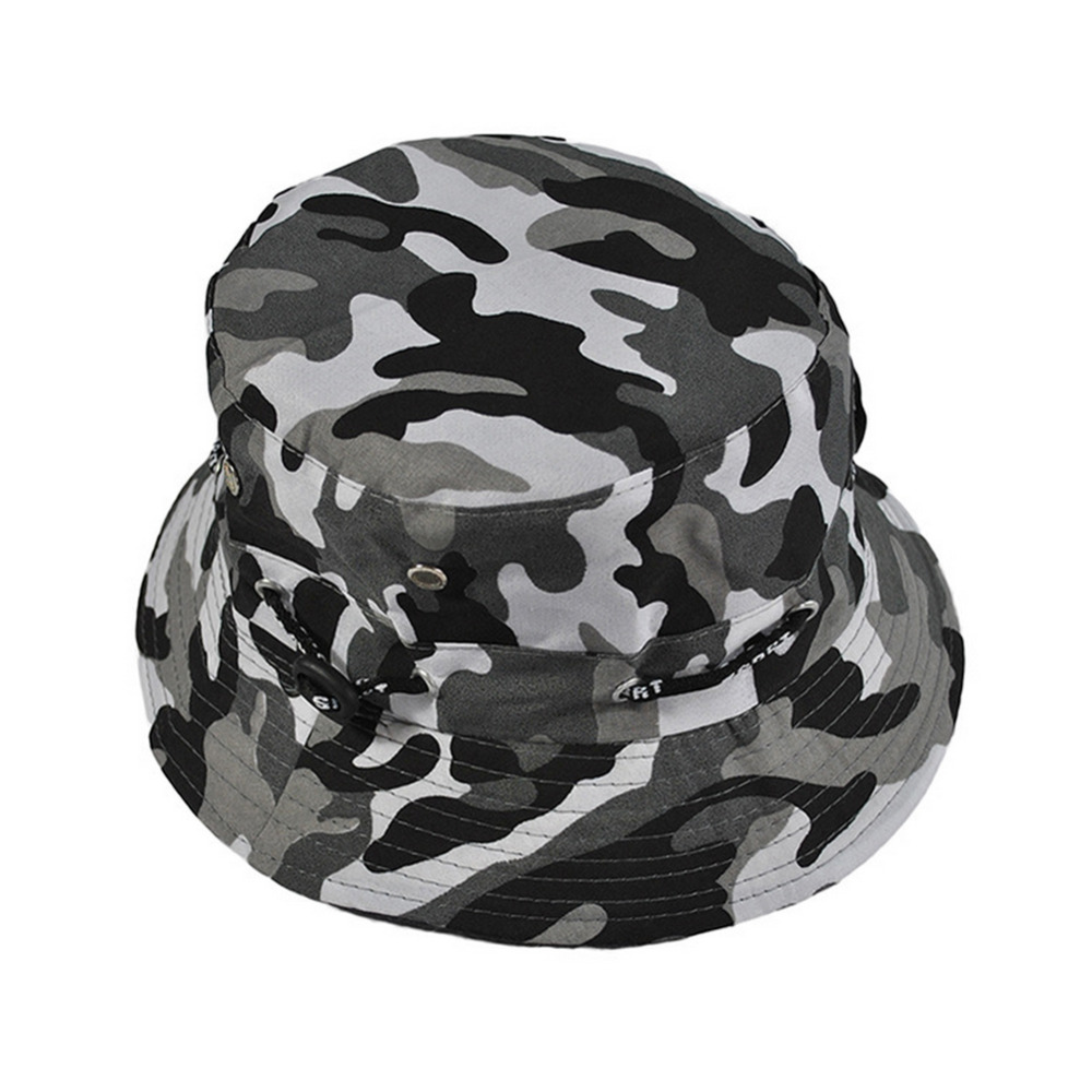 4df12b31a8f New 2017 Summer Mens Women Camo Camouflage Military Hip Hop Bucket Hat Hot  Wide Brim Cap Fisherman Hats Z2-in Bucket Hats from Apparel Accessories on  ...