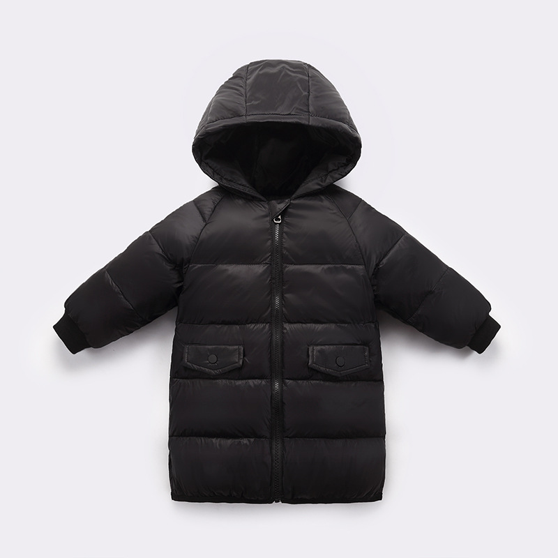 CROAL CHERIE 80% Down Winter Coat For Kids Girls Boys Long Warm Jacket Children Toddler Girl Clothes
