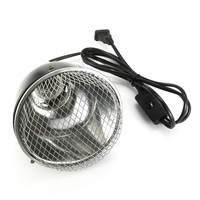 E27 Lamp Base 500W 145mm Lamp Cover Pet Reptile Lamp Reflector Spotlight Light Bulb Lamp Shade