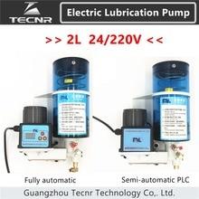 2L полностью автоматическая полуавтоматическая PLC специализированный очиститель масла смазочного масла насос 24V 220V Электрический масляный насос масла масленка для станков с ЧПУ