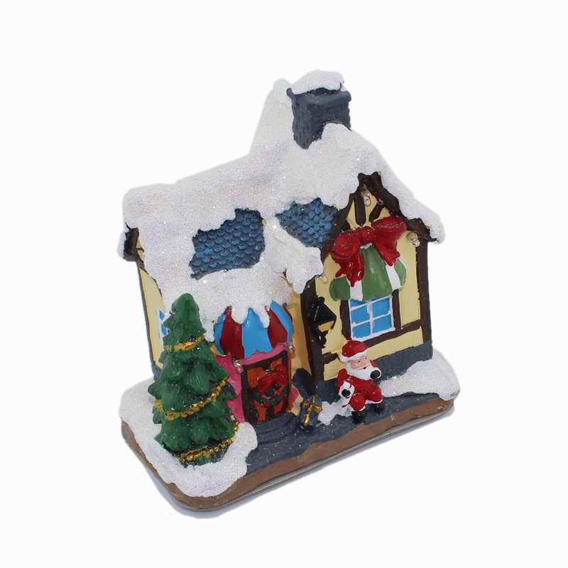 aliexpresscom buy verry christmas village houses rgb led lighted sculpture xmas holiday collection from reliable holiday christmas suppliers on inno home