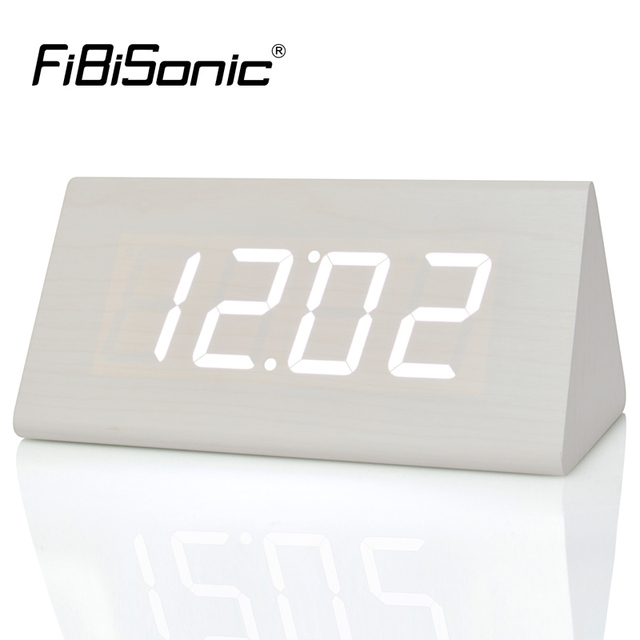 ce59bd69893e FiBiSonic New Modern Wood clocks
