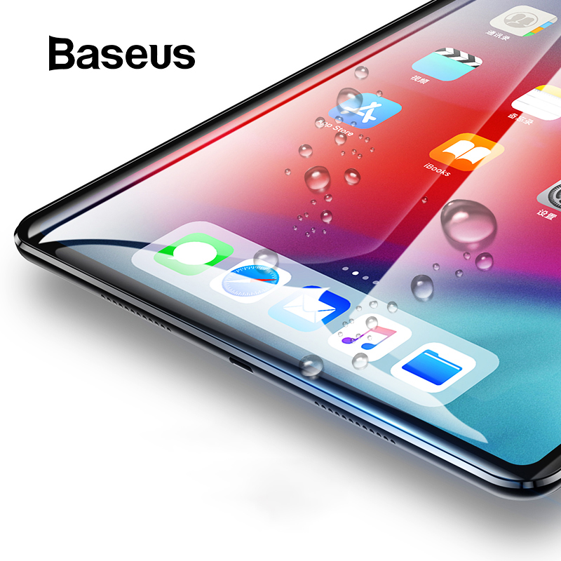Baseus 0.3mm Tempered Glass For Apple iPad Pro 11 12.9 2018 Protective Glass 9H Scratch Proof Tablet Glass For iPad Pro 2018Baseus 0.3mm Tempered Glass For Apple iPad Pro 11 12.9 2018 Protective Glass 9H Scratch Proof Tablet Glass For iPad Pro 2018