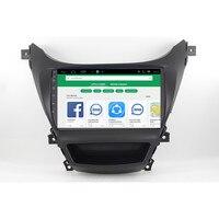CHOGATH ROM 16G RAM 1G Quad Core Android 9.0 For Hyundai ELANTRA 2011 2012 2013 2014 2015 Car audio Player Navigation GPS Radio