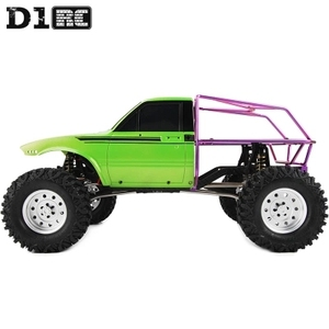 Image 4 - D1RC Original High Quality Metal Bucket Roll Cage back cage For Axial AX80046 SCX10 AX90022 Crawler RC