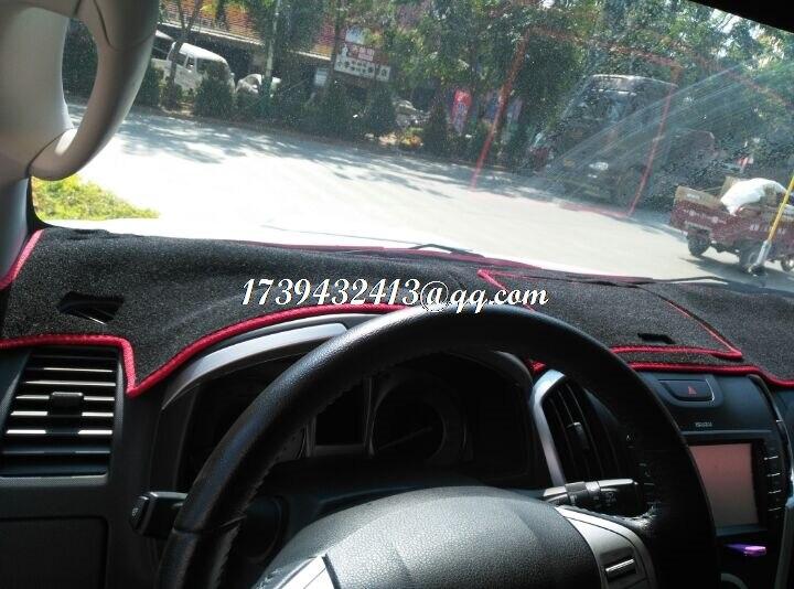 car dashmats car styling accessories dashboard cover for Chevrolet D Max Isuzu MU X 2011 2013 2012 2014 2015 2016 2017