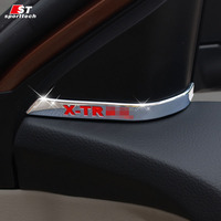Car Styling Door Pillars For Nissan X Trail Inner Door Pillars Trim Cover Stickers Strip For
