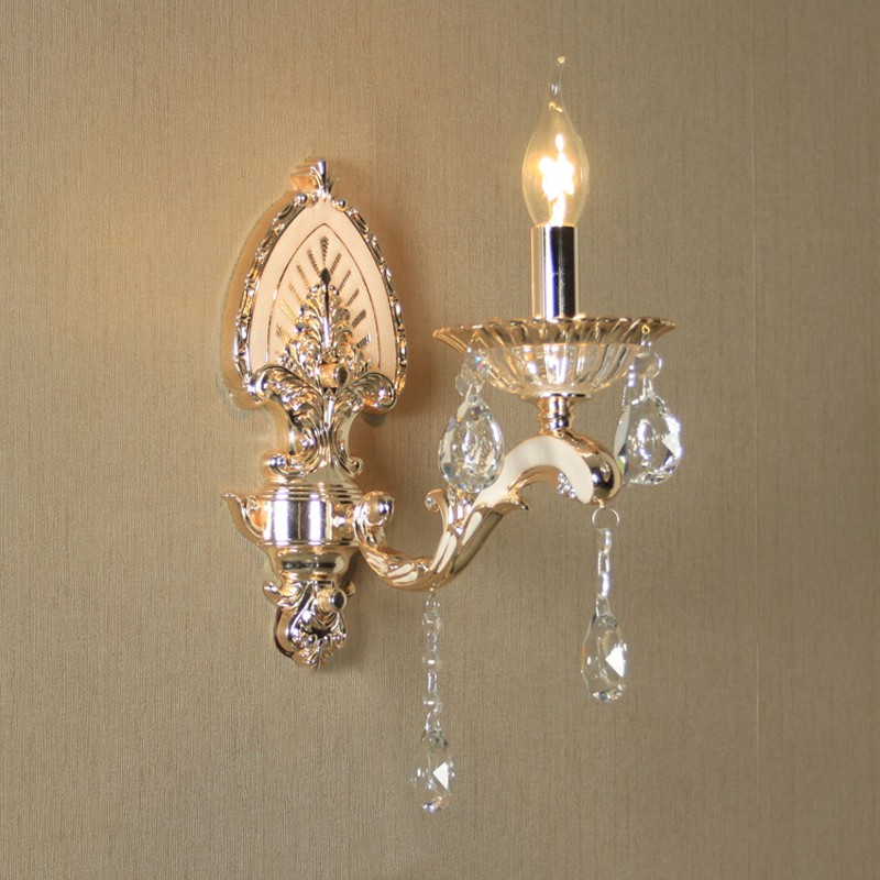 Cottage K9 crystal Wall Light Bathroom led Wall lamp Make-Up Light Flexible Lamp gold wall Sconce Home Lighting led mirror lamps led k9 crystal wall sconce lamp led wall light bedroom living room bedside lamp hotel sconce led mirror light bathroom lamps