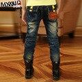 Рваные джинсы бросился дети весной 2016 новые брюки для мальчиков прилива большой мальчик детей корейской версии и осень B138