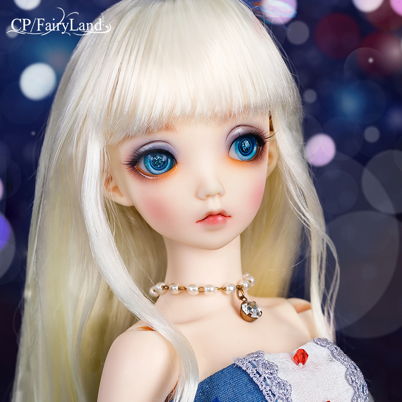 Fairyland Minifee Mio 1/4 bjd sd dolls model girls boys eyes High Quality toys shop resin oueneifs woosoo minifee fairyland bjd sd dolls 1 4 body model reborn girls boys dolls eyes high quality toys shop make up resin
