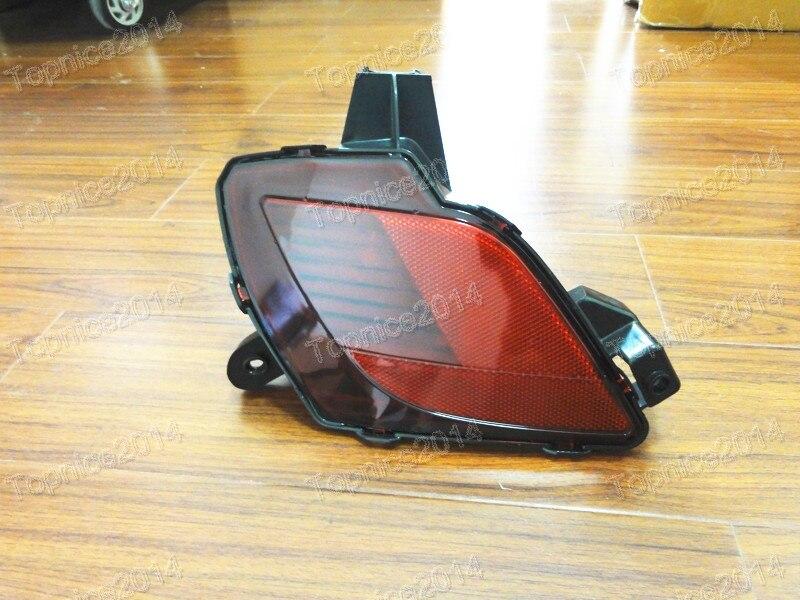 1 piezas luz trasera parachoques trasero luz antiniebla trasera luz - Luces del coche