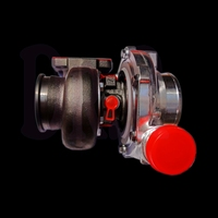 Модернизированный 803715 1 8037115 5001 s большой ультра высокий поток турбокомпрессора двойной шариковый подшипник керамическое Кованое рабочее к