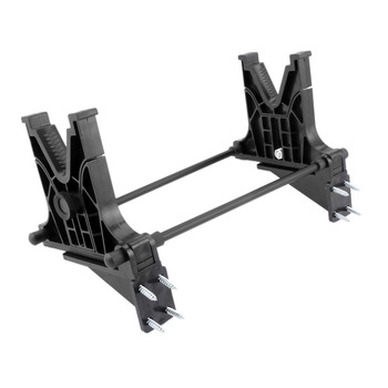 SURIEEN 1 Set Tactical Gun Cleaning Cradle Rifle Stand For Hunting Airsoft Rifle Gun Accessories Black Scope Mounts rifle