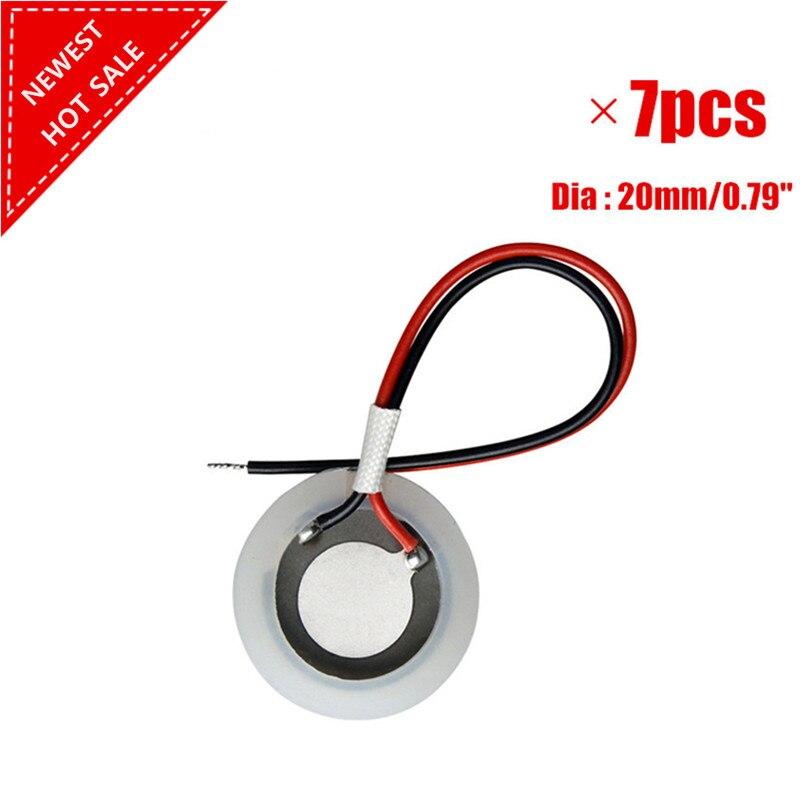 7pcs/ Lot 20mm Fogger Mist Maker Ultrasonic Atomization Ceramic Disc Ring Sheet Atomizer ...