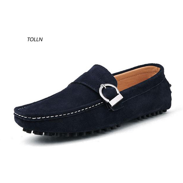 Высокая quality100 % кожа плоским вождения shoes2016newcasual обувь дышащая и удобная обувь Итальянская мужская мода лодка обувь