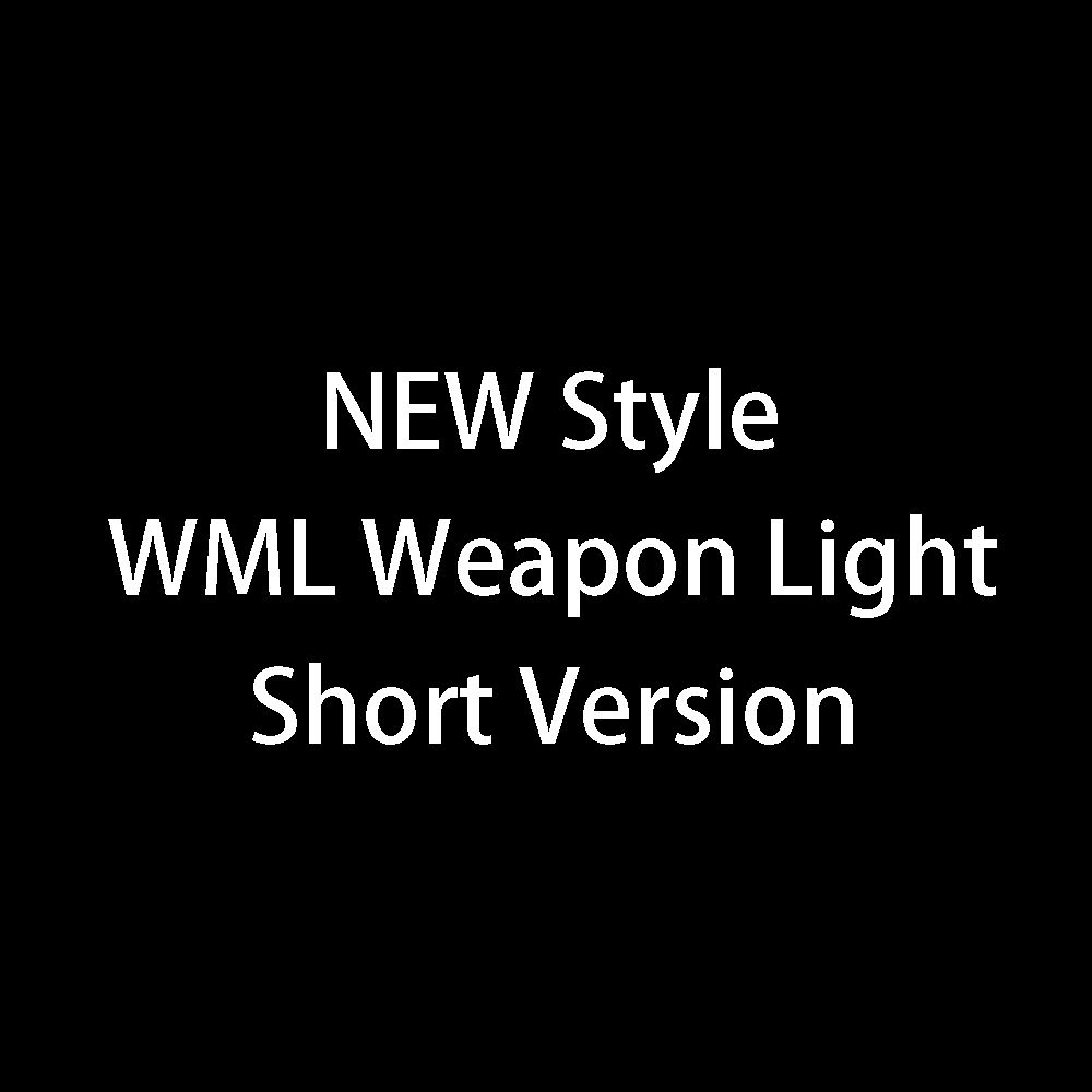 цена на Enhanced Edition WML Scout Light Tactical Weapon Light Rifle Flashlight Fit 20mm Rail For Hunting Lanterna