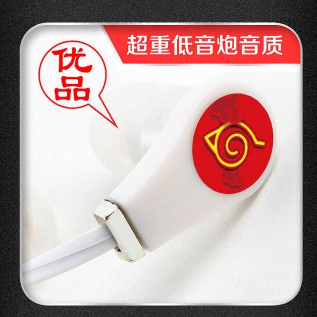 Naruto Earphones Headset for Iphone Samsung Xiaomi MP3 PS4