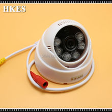 HKES Mini  AHD Camera  720P 960P 1080P 1MP 1.3MP 2MP IR  Dome Camera Indoor CCTV CAM Wide Angle 3.6MM