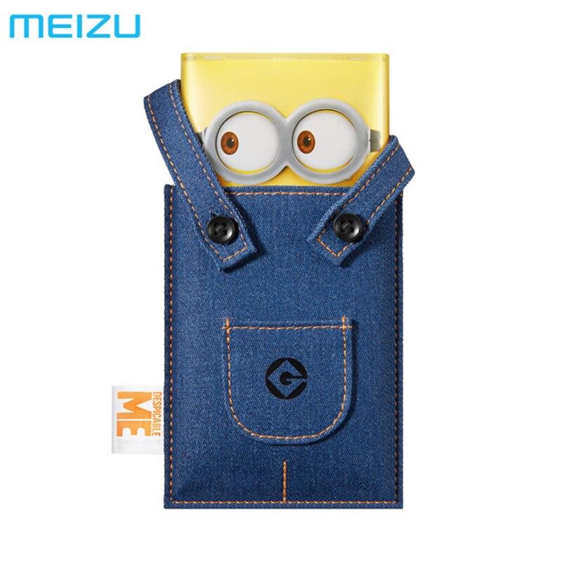 Ursprüngliche MEIZU Minions M20 Energienbank 10000 mAh 24 Watt Flash Schnell Entgelt Externe Batterie 5 V/3A 9 V/2.6A 12 V/2A für Smartphone