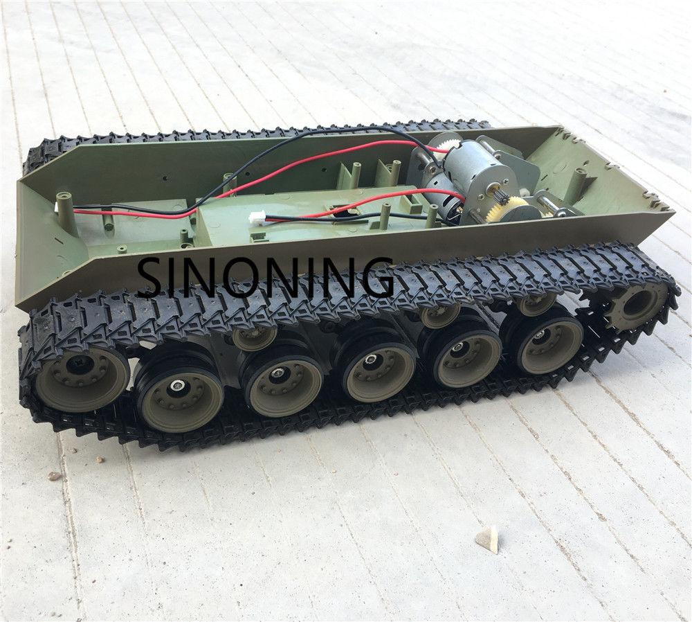 Súper gran suspensión Robot tanque chasis plataforma HengLong 3839 walker bulldog-in Partes y accesorios from Juguetes y pasatiempos    1
