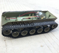 Supper Big suspension Robot Tank Chassis Platform HengLong 3839 walker bulldog