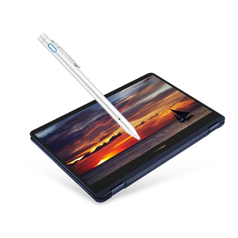 Active Stylus Stylo Capacitif Écran Tactile Pour Asus ZenBook 3F VivoBook Flip Pour Acer Commutateur 5 3 Spin 7 Pointe Ordinateur portable cas