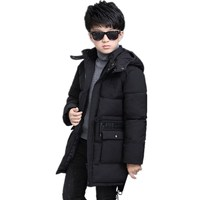 2018 Big Boys Winter Jacket Baby Coat Children Outerwear Warm Teenager Clothes Kids Parkas Toddler Long Down Jackets Boy Coat