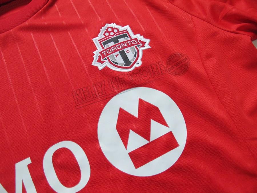 134cbfb71 Soccer Jerseys Toronto FC 2015 BRADLEY GIOVINCO ALTIDORE 15 16 Toronto Home  Red Away Black football shirt -in Soccer Jerseys from Sports    Entertainment on ...