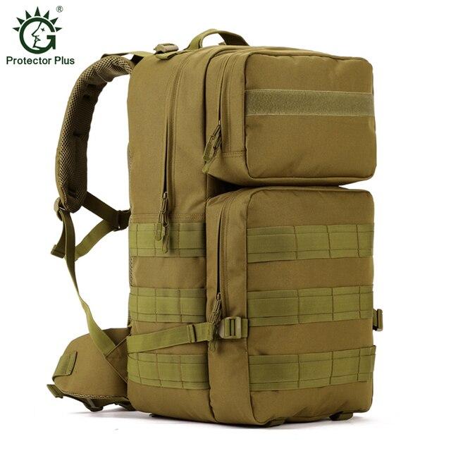 ce8aeb9015350 Açık Spor Askeri Taktik Sırt Çantası Yürüyüş Seyahat Tırmanma Çanta Kamp Sırt  Çantası Taktik Çanta Spor